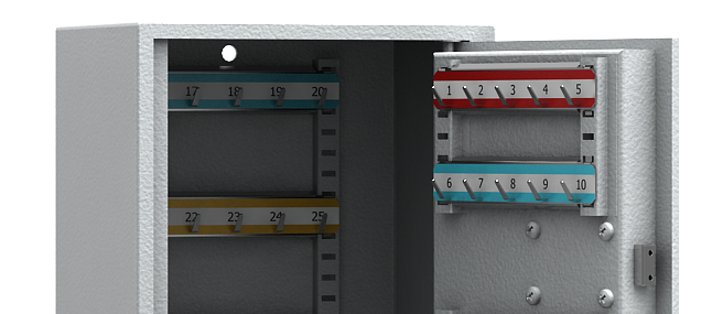 Sleutelkast HA zware uitvoering