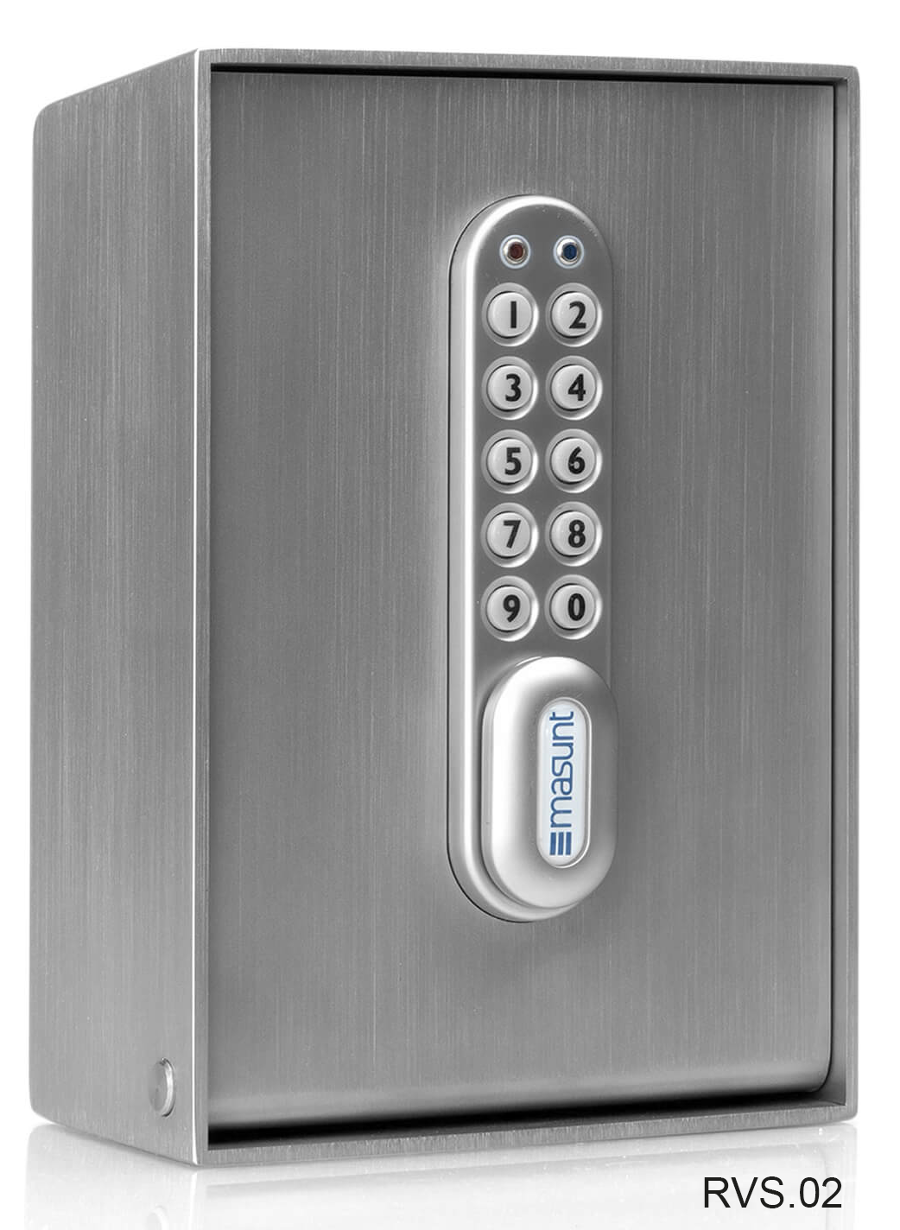 RVS outdoor sleutelkast